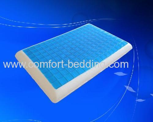 Traditional cool gel memory foam pillow