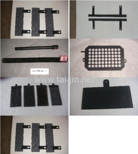 Ru-Ir Oxide Coated Titanium Anodes for Sewage Treatment