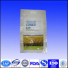 Quad-seal plastic bag for rice packing
