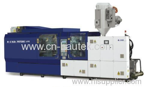 PET specialized injection machine
