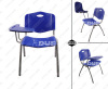 Plastic affinity chair with ablet seating ergonomic stacking lecture chair