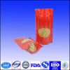 Dried fruit and nut stand up packaging bags with front clear window