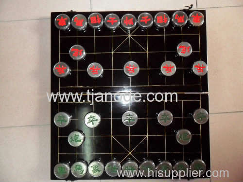 Cineses Traditional Folk Art Titanium Chinese Chess