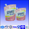 stand up spout bags for liquid detergent