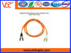 LC/PC-ST/PC multimode duplex optical fiber patch cord