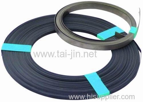Titanium mixed metal oxide ribbon anode
