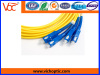 SC PC to SC PC singlemode indoor optical fiber patch cord
