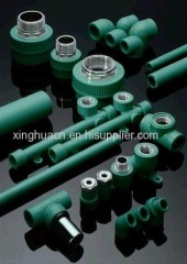 PPRC hot cold water supply system pipe fittings in China