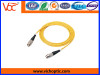 ST to ST singlemode simplex optical fiber patch cord
