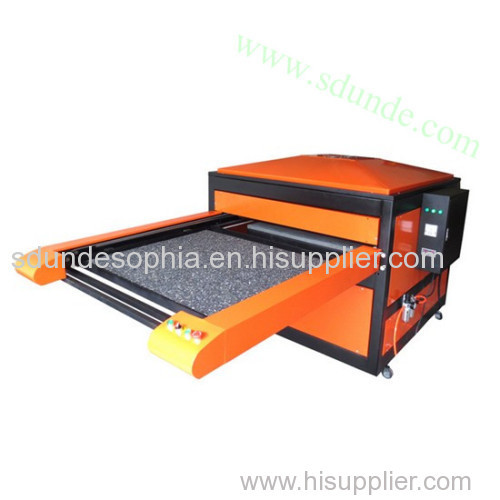 Automatic Pneumatic Double Stations Sublimation Heat Press Machine
