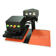 Pneumatic Double Stations Shaking Head Heat Press Machine