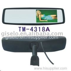4.3 inch original car monitor/TFT-LCD monitor/car TFT LCD/back view monitor/car mirror