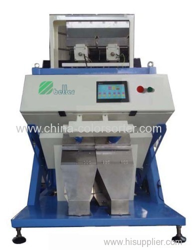 most suitable CCD color sorter machine for long grain rice