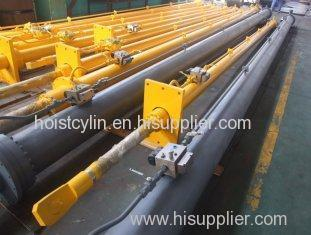 QPPY Series Flat Gate Hydraulic Hoist Single Acting Hydraulic Cylinder