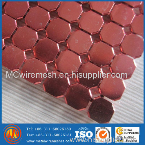 decorative metal fabric wire mesh/metal drapery/metal cloth
