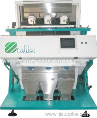 99.5% high precision CCD color sorter machine for long grain rice