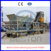ISO, CE Certificates, Ful auto Mobile Cement Batching Equipment YHZS50