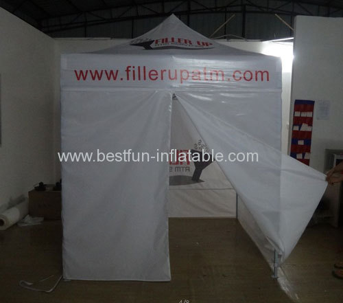 Aluminum Folding Tent With Sidewalls