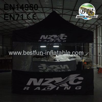 Foldable Gazebo With Side Panels