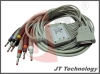 10 leads ECG Cable and lead wire