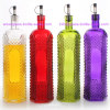New Design Colored Olive Oil and Vinegar Glass Bottle