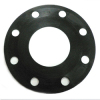 Rubber flange gasket for pipe fitting