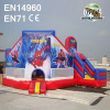 Commercial Inflatable Spiderman Adventures Bounce Castle