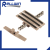 Slat top Rubber top chain 1873 for food and beverage