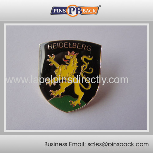 Hot sales soft enamel pin bdge for advertising
