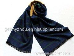 100% cotton scarf for men