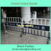 PVC coated 1100mm by 2500mm police Crowd control barrier fence