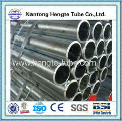 1.5 60mm round carbon seamless steel pipe