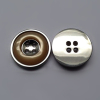 Alloy Sewing Button with Polyester Part 4-Hole