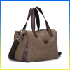 Fashion tote duffel canvas travel bag