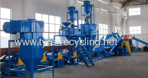 Waste Tire Recycling Line For Sale