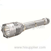 Newest 5 modes portable waterproof aluminium Rechargeable CREE LED Flashlight