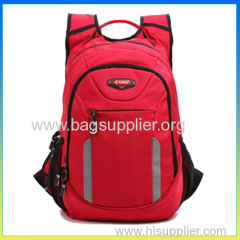 Hot selling cute school bag red girls laptop bags backpack