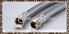 Stainless steel braided hose with EPDM tube