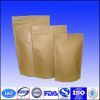 Hot Sale Food Packaging Foil Lined Stand Up Kraft Paper Bags