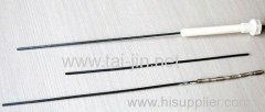 Electric MMO coated wire anode for water heaters