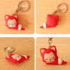 Company promotional items cute cartoon custom keychain