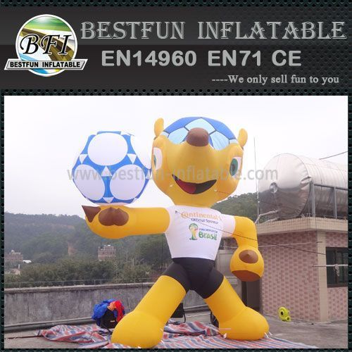 2014 Brazilian World Cup mascot Fuleco