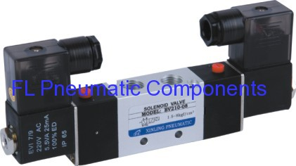 Five Port Two Position Solenoid Valve