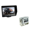 "7"" Waterproof LCD monitor Two camera input 1/4"" CCD camera,12-24V"