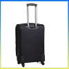 New products 2014 luggage polyester spider wheels travel trolley case
