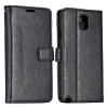 Magnetic Card Slot Leather Case for Samsung Galaxy Note 3 N9000(Black)