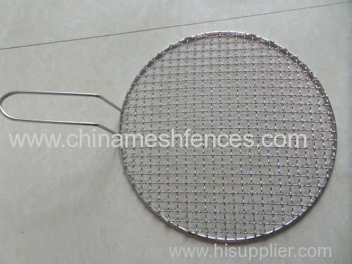 galvanized crimped barbeue wire mesh anping direct factory