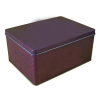 Hinged rectangular biscuit tin