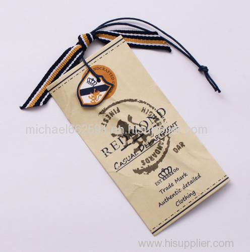 Printed Paper Hang tags with good price
