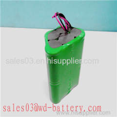 weidong 14.4V nimh battery pack for vacuum cleaner SC 3500mAh